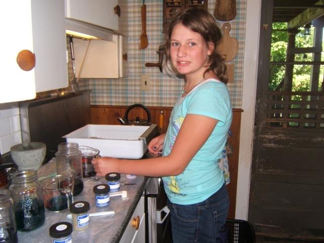 Pancake Dyeing Sunshine Rughooking