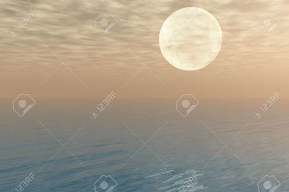3684907-moon-over-the-sea-moon